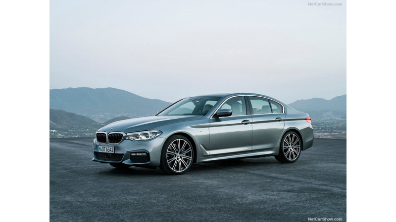 Latest generation BMW 5 Series showcased at Bangkok 2017