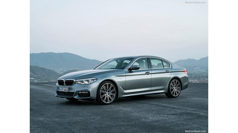 Latest generation BMW 5 Series showcased at Bangkok 2017