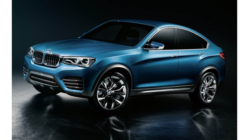 BMW reveals first impressions of the X4 Concept
