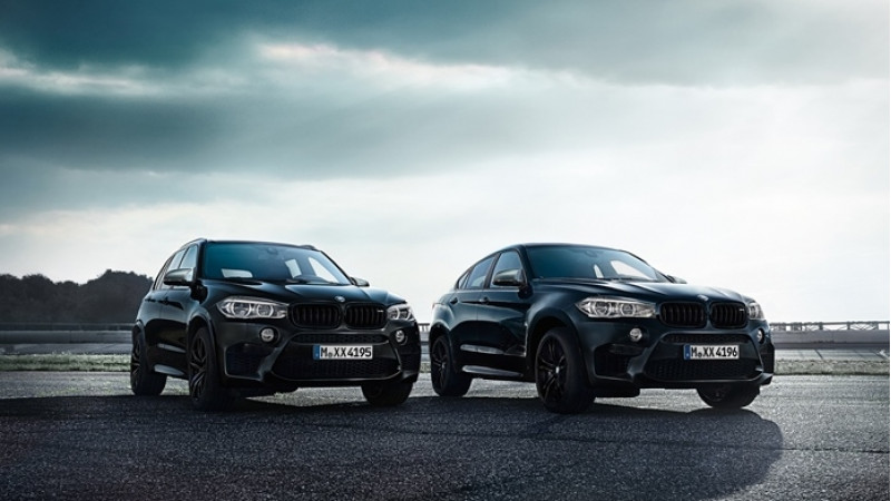 BMW X5 M and X6 M Black Fire editions unveiled