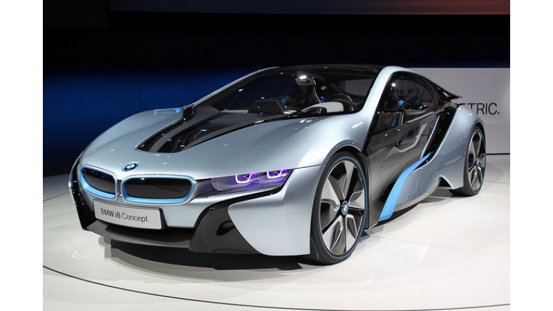 Uma Thurman Drives The Stylish Bmw I8 Concept Roadster At Born