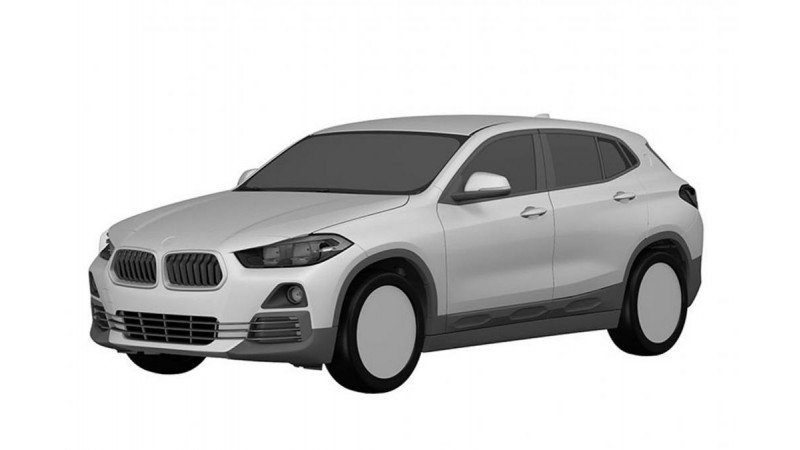 Patent renderings of the BMW X2 leaked