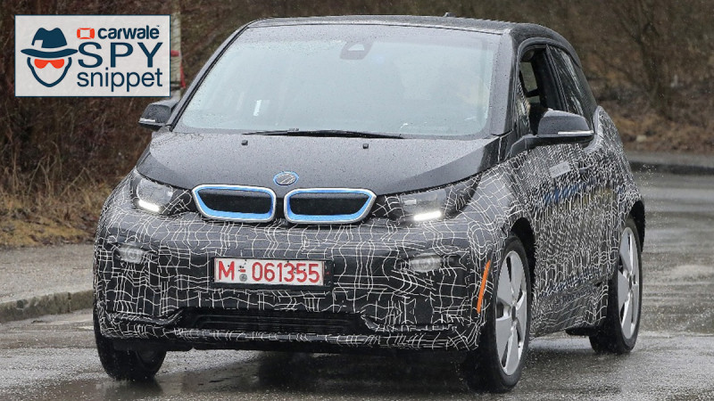 Refreshed BMW i3 spotted testing