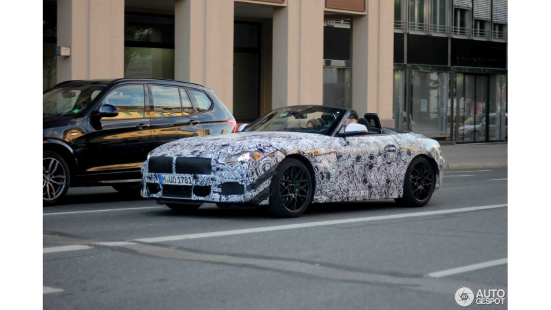 BMW continue testing the new Z4 Roadster
