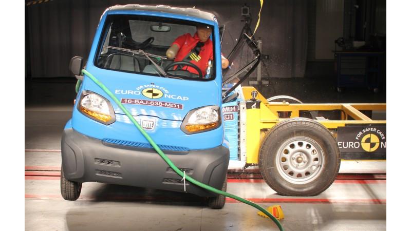 Bajaj Qute gets 1-star rating in Euro NCAP crash test