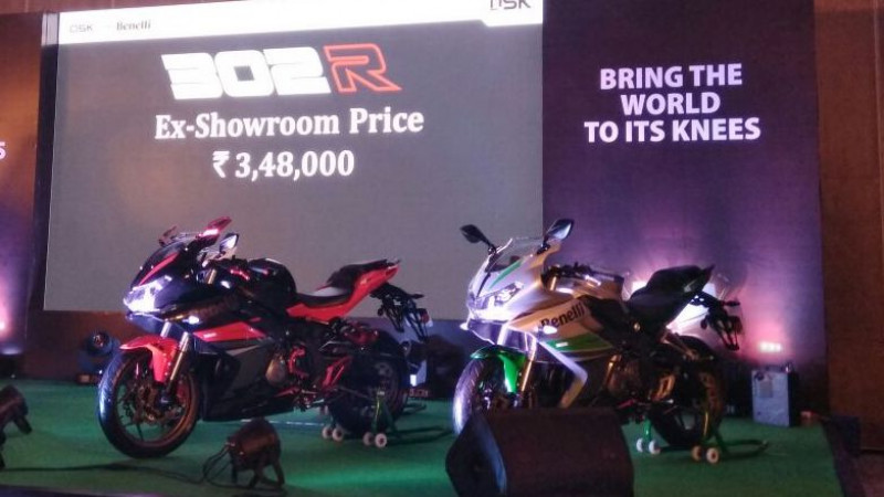 DSK Benelli launches 302R at Rs 3.48 lakh