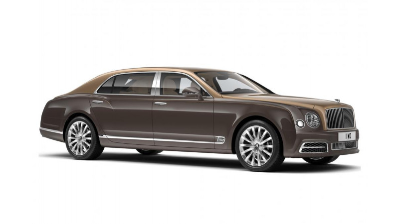 Bentley premieres the Mulsanne First Edition at the Beijing Motor Show