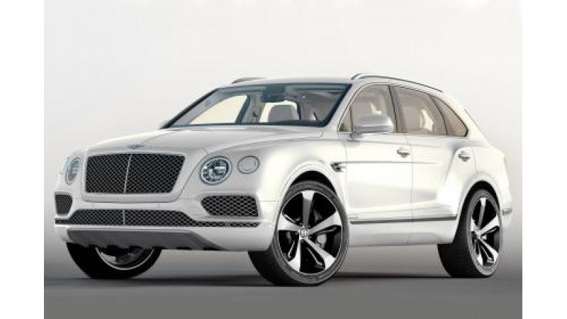 Bentley unveils the Bentayga First Edition