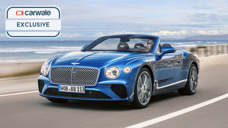 2019 Bentley Continental GTC rendered