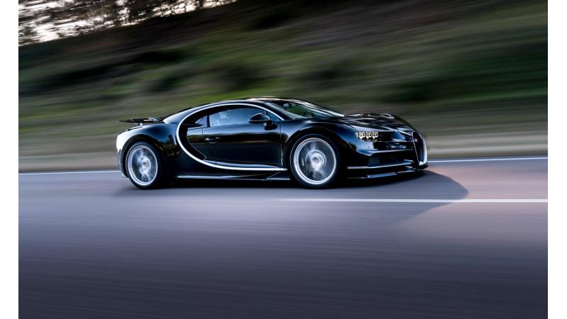 Bugatti Chiron images revealed