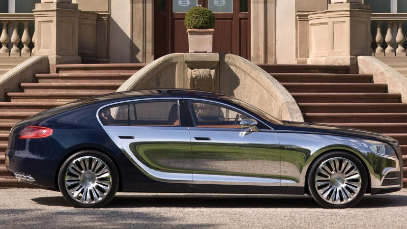 Bugatti looks to produce the Galibier luxury saloon
