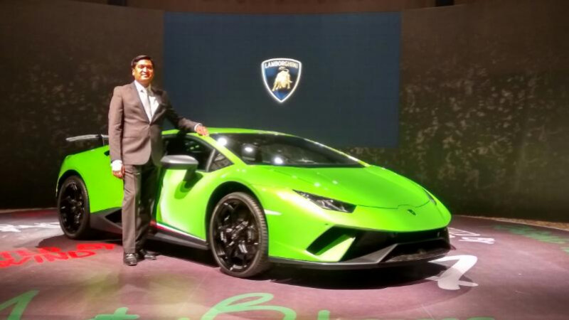 Lamborghini launches the Huracan Performante in India at Rs 3.97 crore