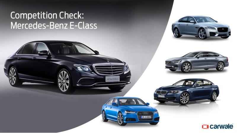 Competition Check: Mercedes-Benz E-Class