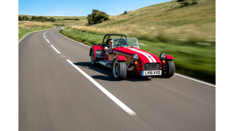 Caterham introduces the Seven 310R