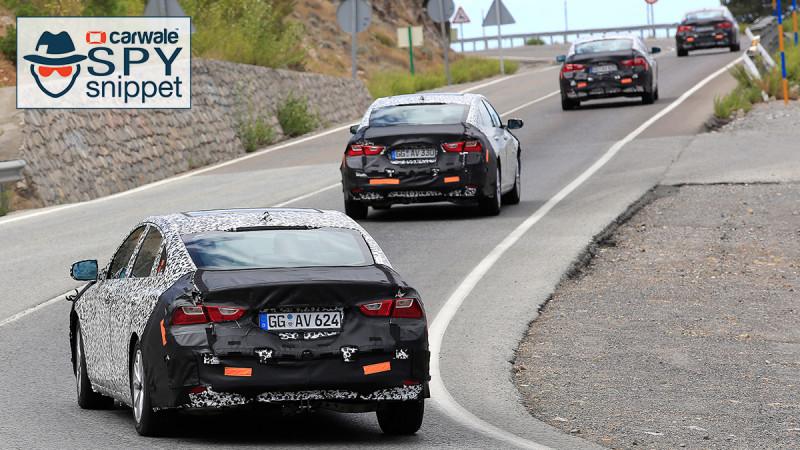 Chevrolet spied testing the 2019 Malibu