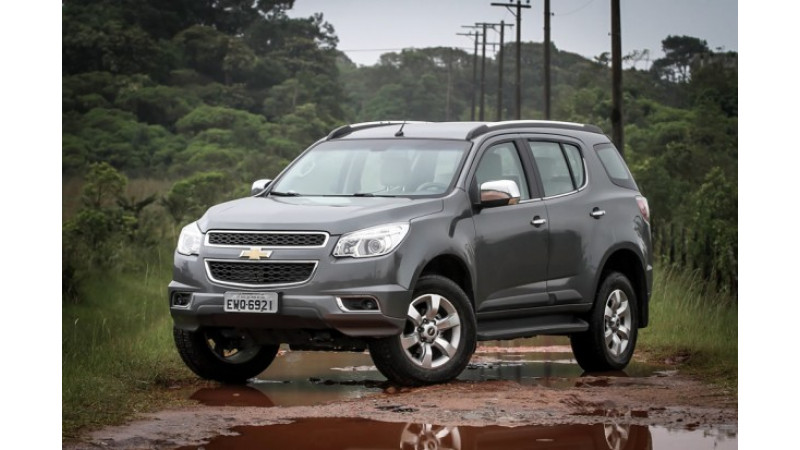 Chevrolet Brazil recalls Trailblazer for airbag problems