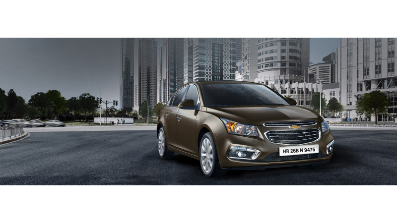 2016 Chevrolet Cruze available in    Burnt Coconut    colour for Holi