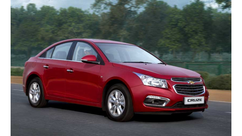 2016 Chevrolet Cruze launched for Rs 14.68 lakh