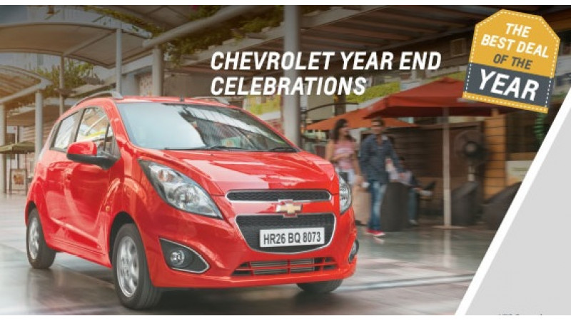 GM India offering year-end discounts on Chevrolet cars