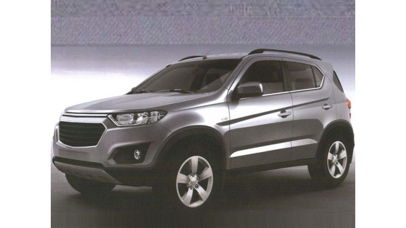 Upcoming Chevrolet Niva compact SUV images leaked