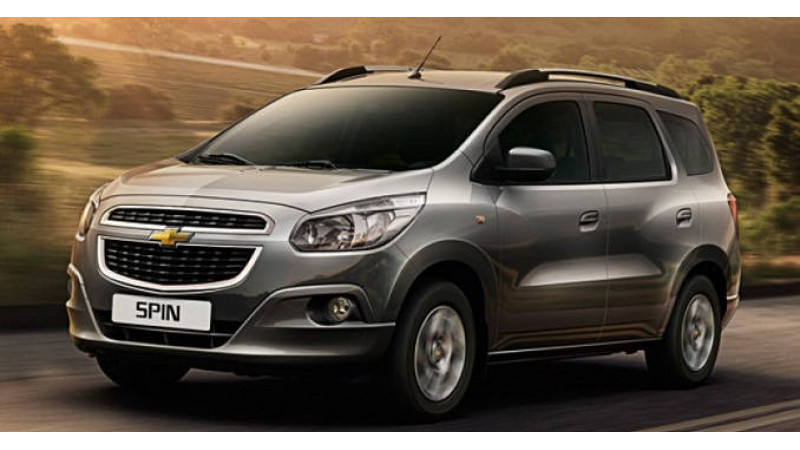 Chevrolet Spin will not be launched in India