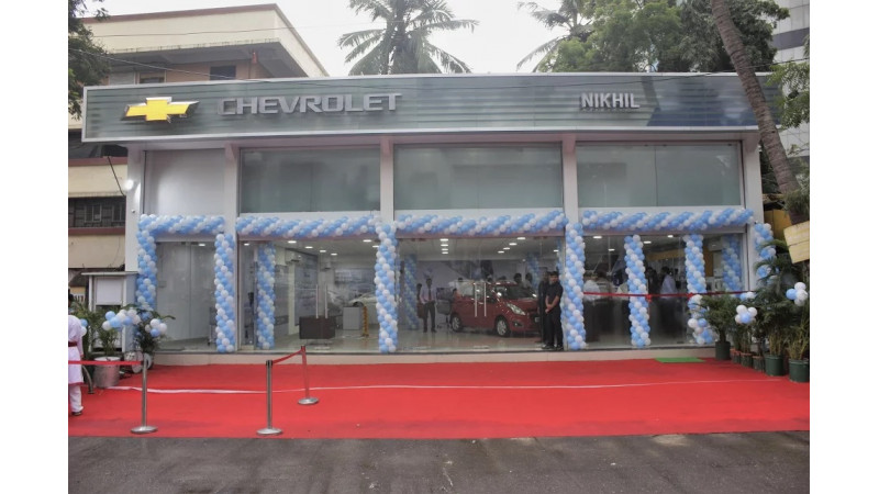 Chevrolet opens a new dealership in Mumbai