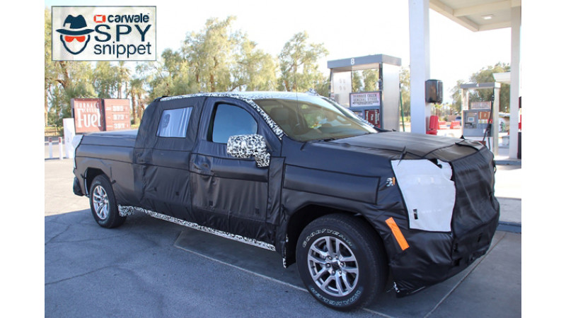2019 Chevrolet Silverado spotted testing