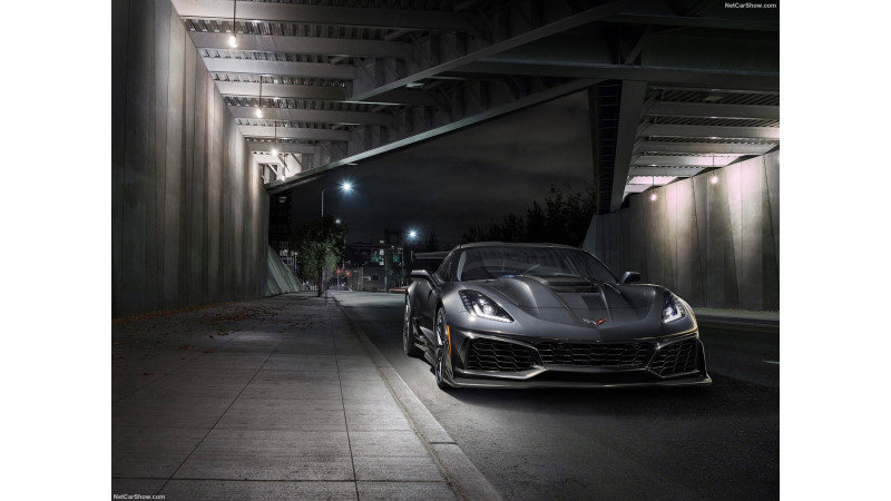 Chevrolet Corvette ZR1 revealed with 755 horsepower