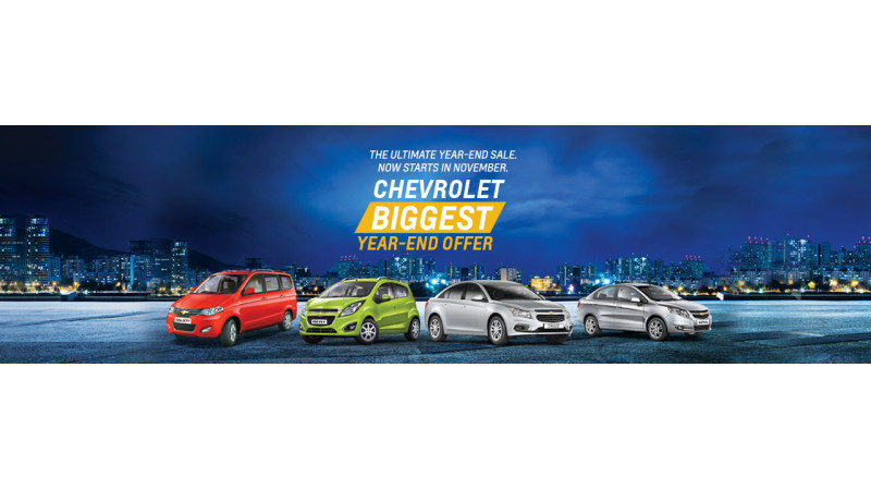 Chevrolet offers Rs 50,000 off on Beat, Rs 75,000 on Sail sedan