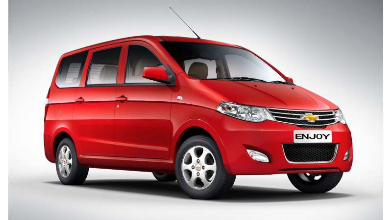 Chevrolet Enjoy has a 1.3L Diesel and a 1.4L Petrol unit