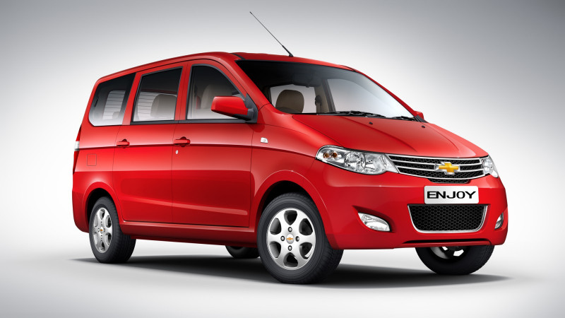 Chevrolet Enjoy launched in India at a starting price of Rs. 5.49 lakh