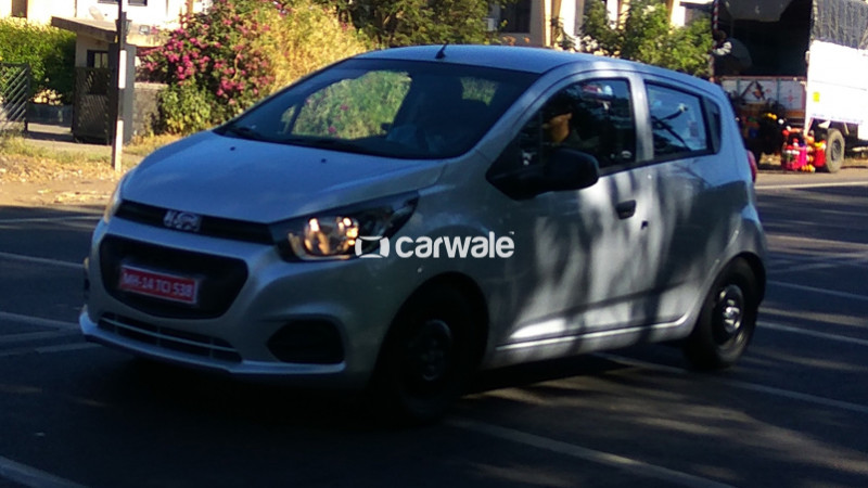 2017 Chevrolet Beat Spotted On Test Without Any Camouflage