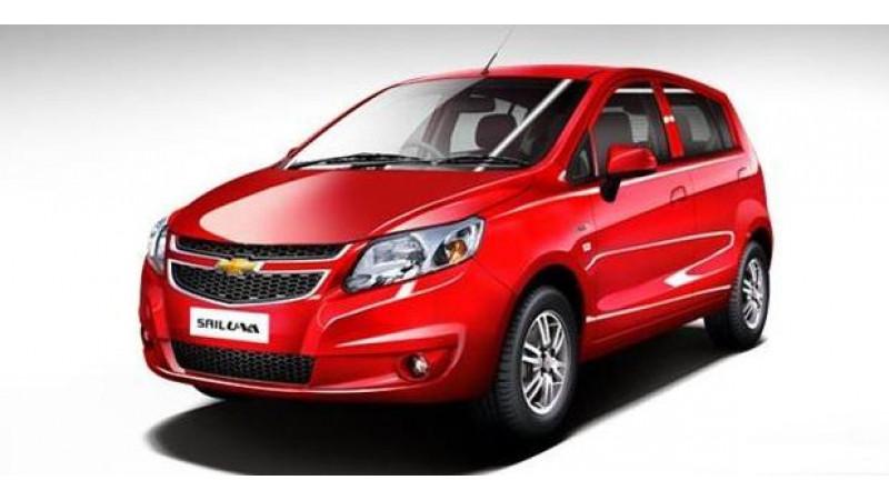 Prices of Chevrolet Sail U-VA slashed, base petrol now starts at Rs. 4.14 lakhs
