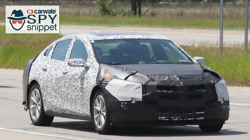 Chevrolet tests their 2019 Malibu