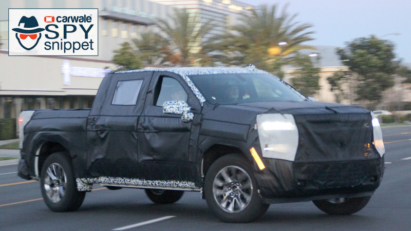 Next generation Chevrolet Silverado 1500 spotted testing