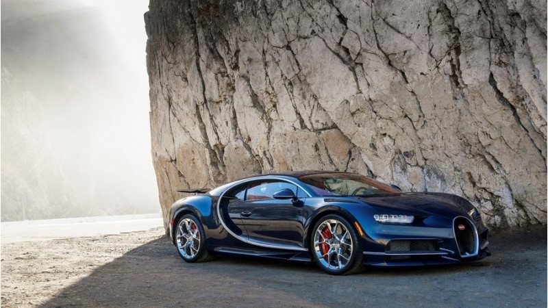 Chiron debuts at the Quail Motorsports gathering in California