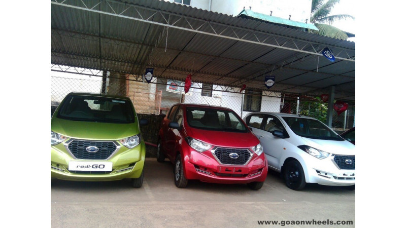Datsun Redigo arrives at dealerships