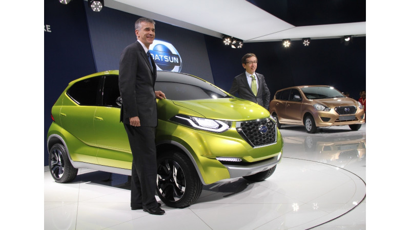 Datsun Redi-Go based micro crossover launch likely in 2016