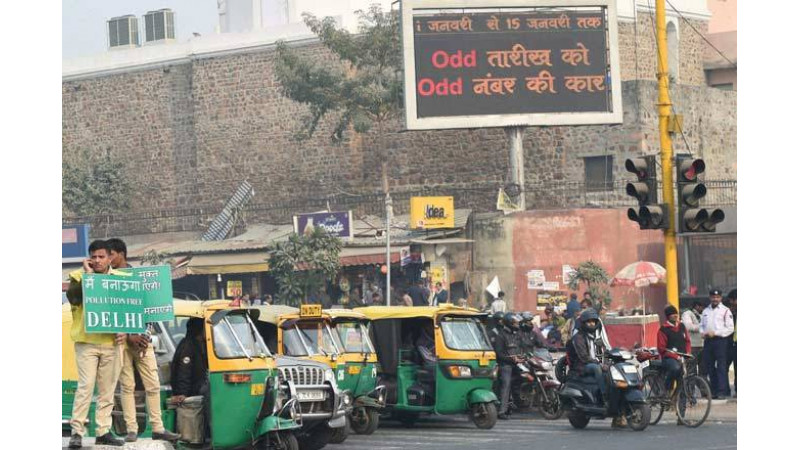 Delhi's odd-even scheme set for comeback from April 15th-30th