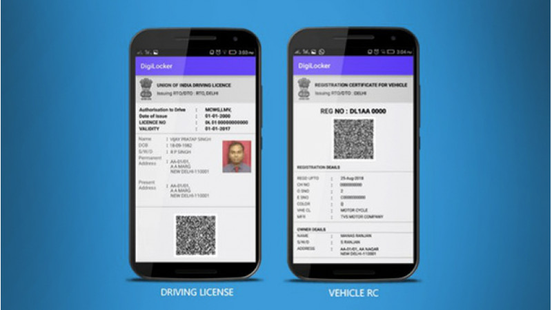 Digital driving licence and vehicle registration papers to be valid soon