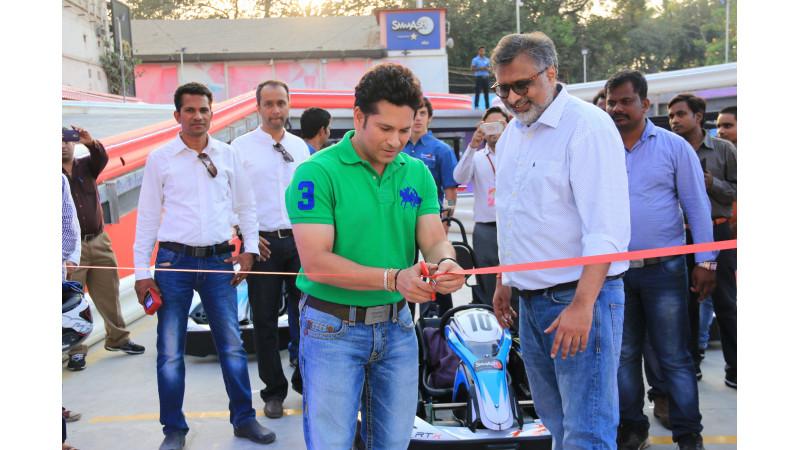 Environmentally friendly electric go-kart track now in Mumbai