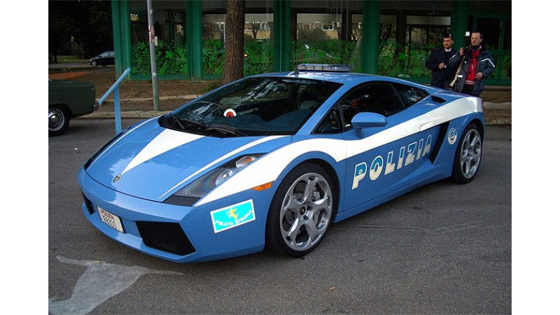 Exotic police cars of the world