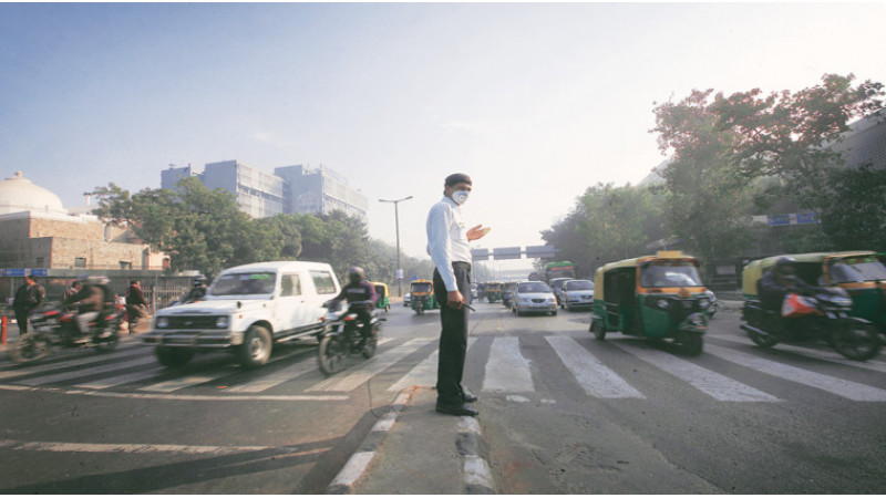 Experts state - Less traffic congestion in Delhi reduces local pollution levels