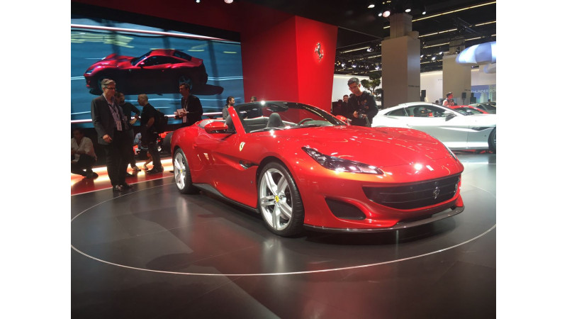 Frankfurt Auto Show 2017: Ferrari showcases the all-new Portofino