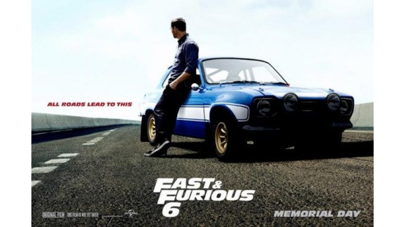 Fast & Furious 6 cars to set pulses racing on May on 24, 2013