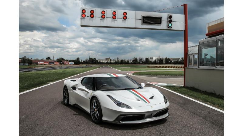 Ferrari unveils one-off 458 MM Speciale