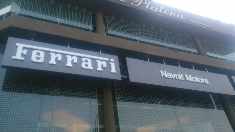 Ferrari opens its first showroom in Mumbai