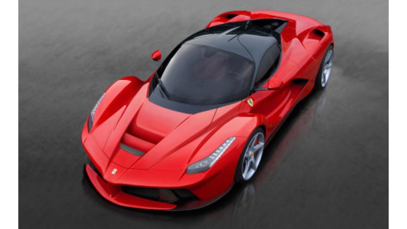 Hyper-hybrid LaFerrari dominates '13 Geneva Motor Show