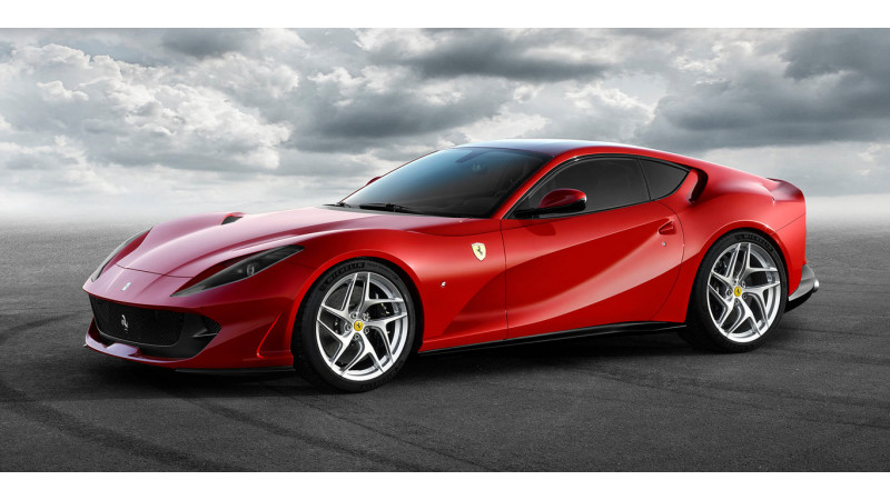 Ferrari 812 Superfast now available in India at Rs 5.2 crores