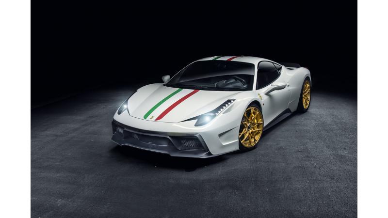Vorsteiner tuned Ferrari 458 debuts at SEMA